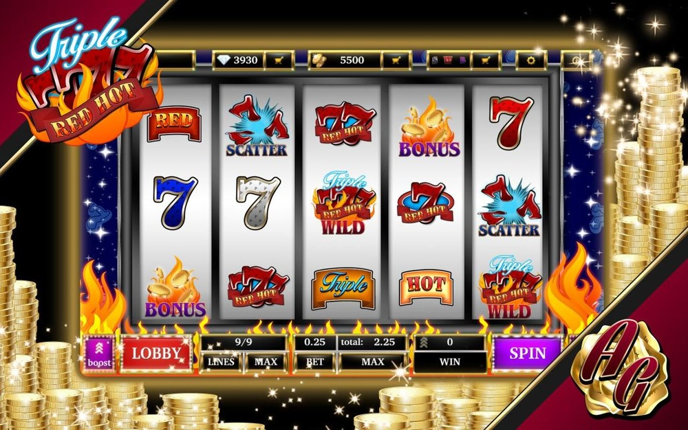 Triple Red Hot 777 Slot 2